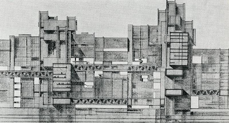 Saul Greco. L'Architettura  1965,