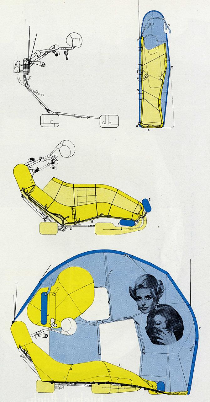 Michael Webb. Architectural Design 36 November 1966, 576