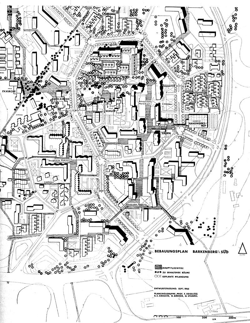 Grosche Borner and Stumpfel. Bauwelt 38-29 1967, 1145