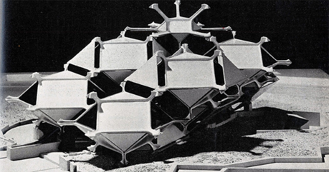 Kenji Ekuan. Architectural Design 37 May 1967, 214