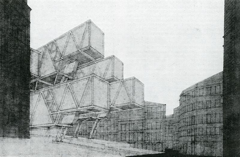 Marco Porta, Emilio Battisti, Ezio Bonfanti, Cesare Macchi Cassia. Casabella 321 1967, 45
