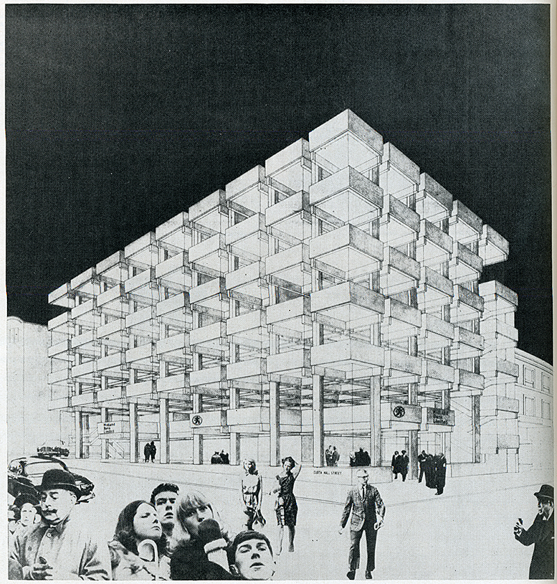 Peter Womersley. Architectural Review v.143 n.851 Jan 1968, 40
