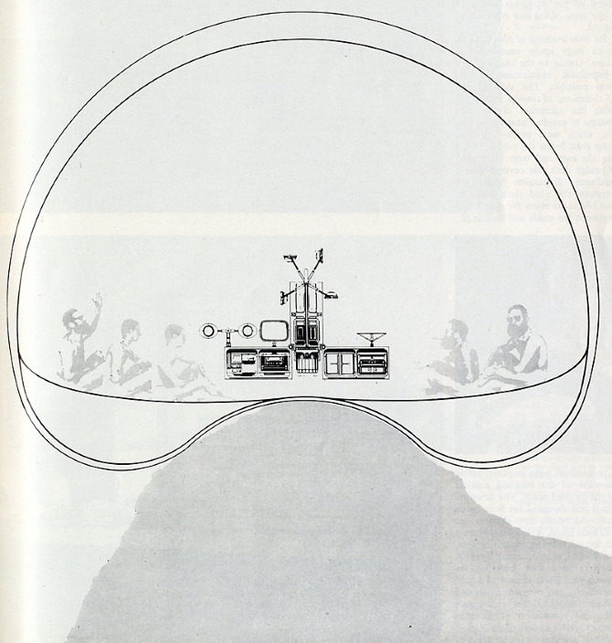 Reyner Banham. Architectural Design 39 January 1969, 48