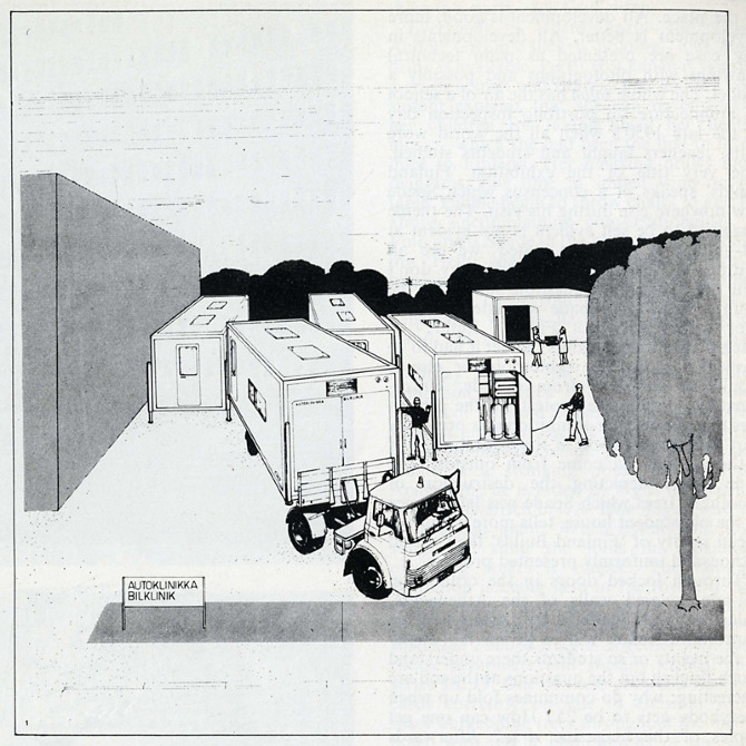 Arno Savela. Architectural Design 40 August 1970, 399
