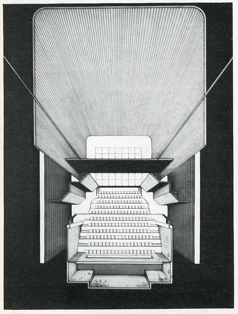 Peter Moro. Architectural Review v.147 n.876 Feb 1970, 106