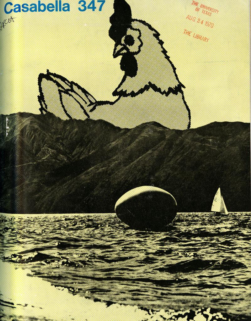 Piet Holstein. Casabella 347 1970, cover