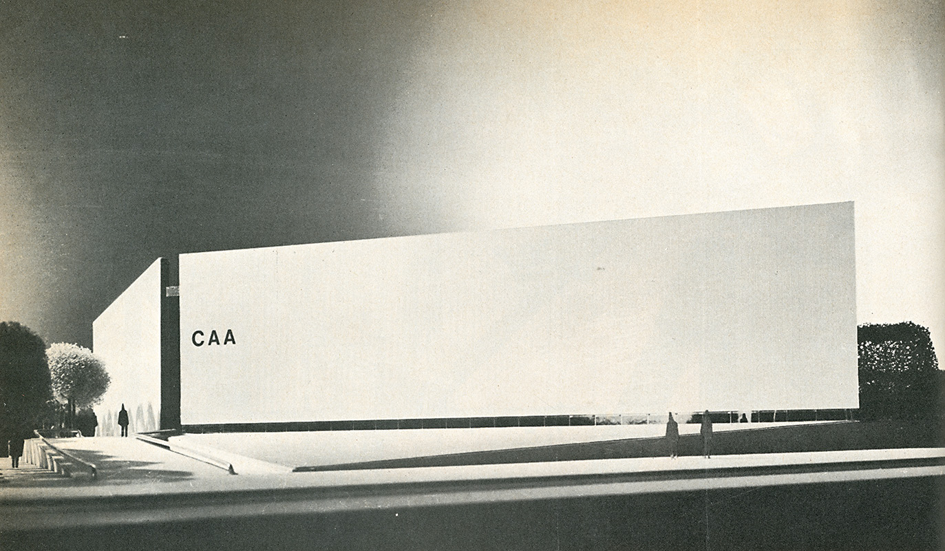 Gunnar Birkerts. Architectural Record. Oct 1971, 110