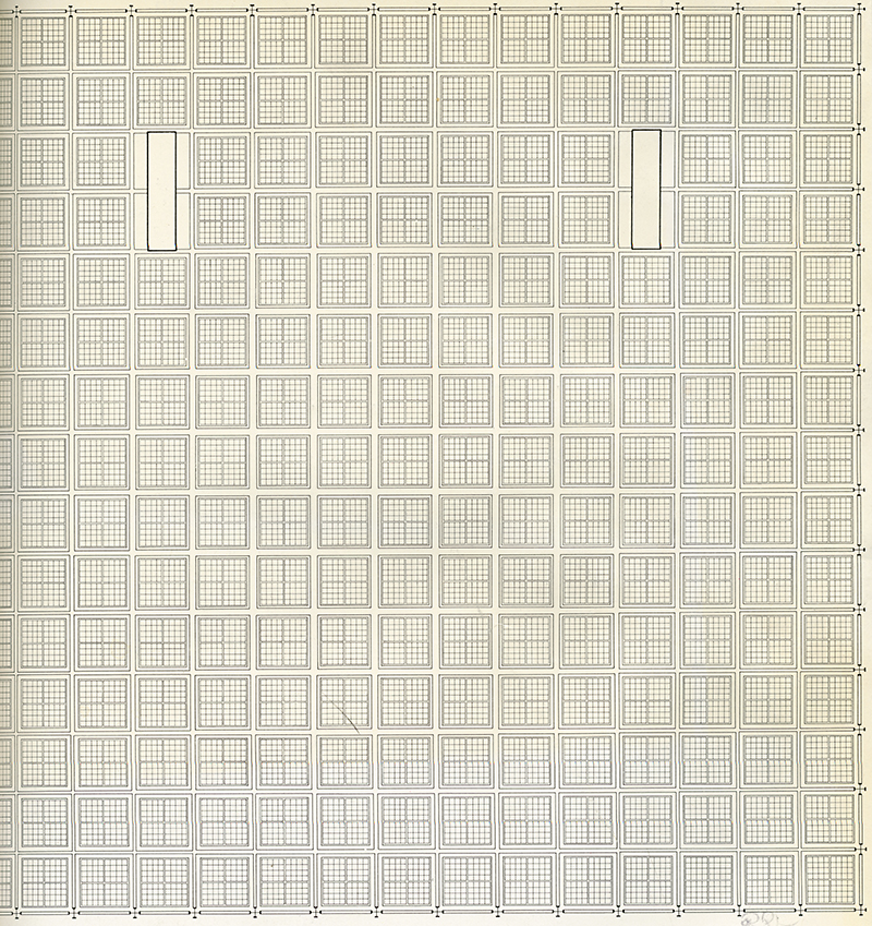 Mies van der Rohe. Architectural Record. Mar 1971, cover