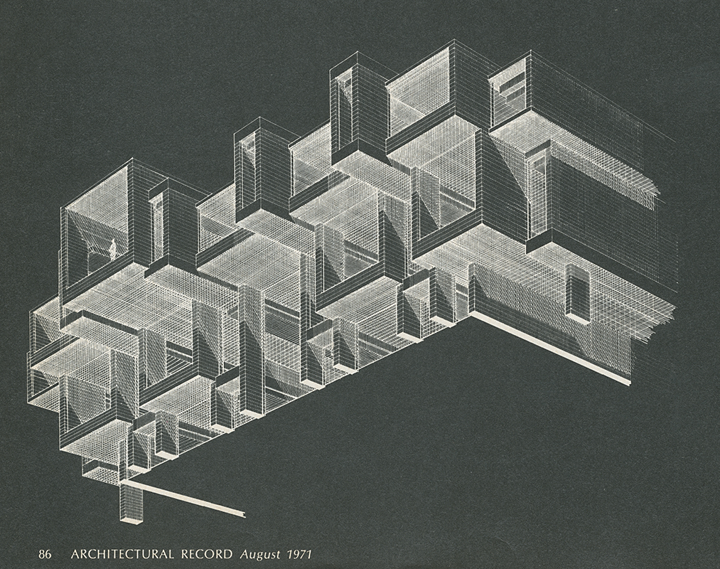 Paul Rudolph. Architectural Record. Aug 1971, 86