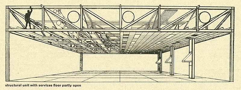 Ronald Tallon. Architectural Review v.149 n.887 Jan 1971, 51