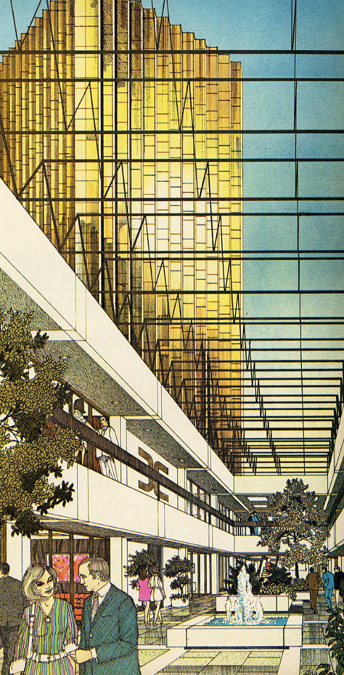 Neuhaus and Taylor. Progressive Architecture 53 January 1972, 115