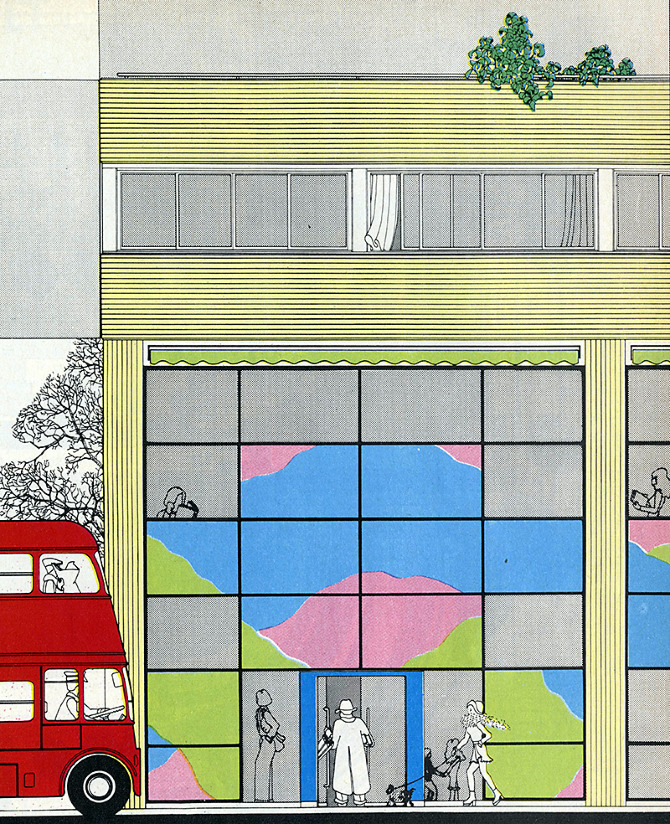 Farrel and Grimshaw. Architectural Design 43 February 1973, 108