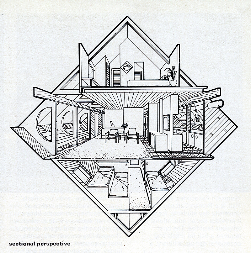 Clovis Heimsath. Architectural Review v.156 n.929 Jul 1974, 33