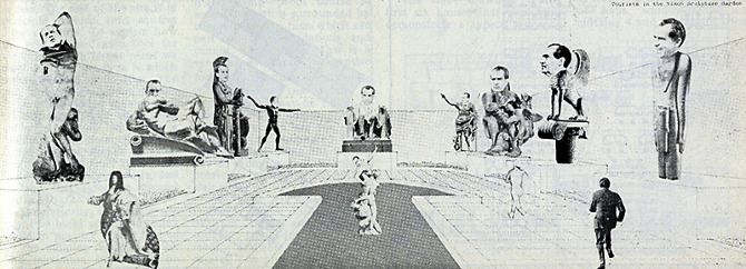 Marc Appleton and Brad Neal. Architectural Design 44 October 1974, 654