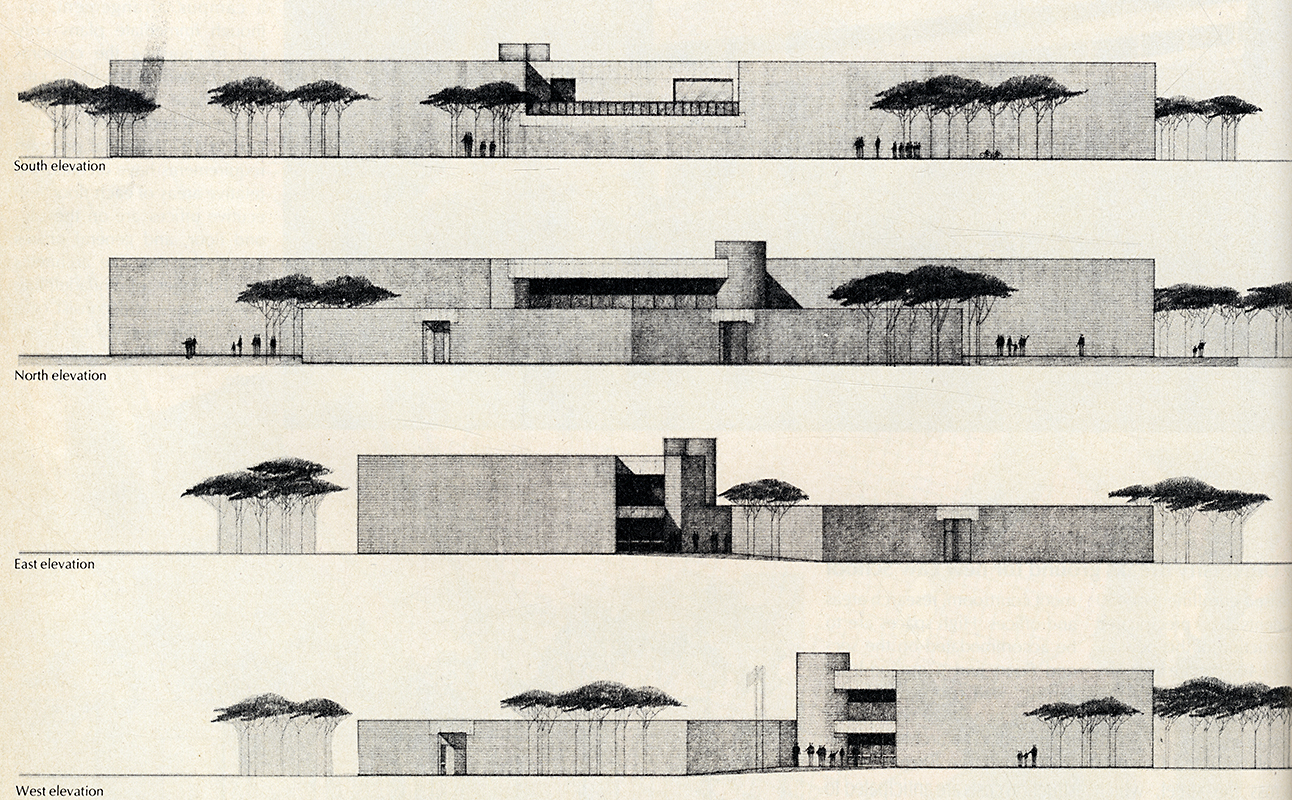 Martin and Ortega. Architectural Record. Jul 1974, 40