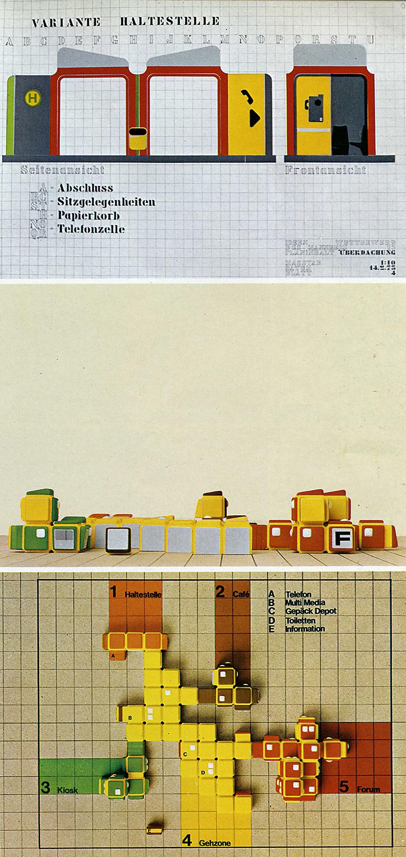 Studio Esser Design. Domus 544 March 1975, 47