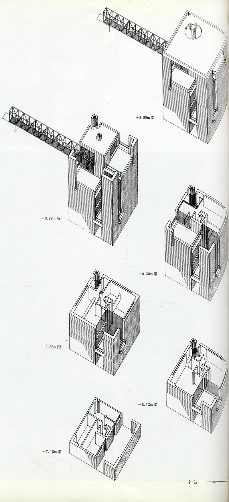 Mario Botta. GA Houses. 1 1976, 162