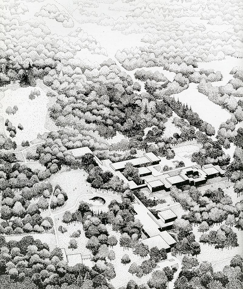 David Reddick. Architectural Review v.163 n.972 Feb 1978, 75