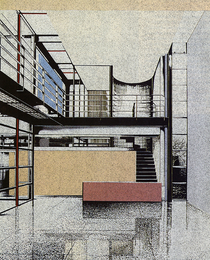 Ronald Krueck and Keith Olsen. Progressive Architecture 61 June 1980, 75