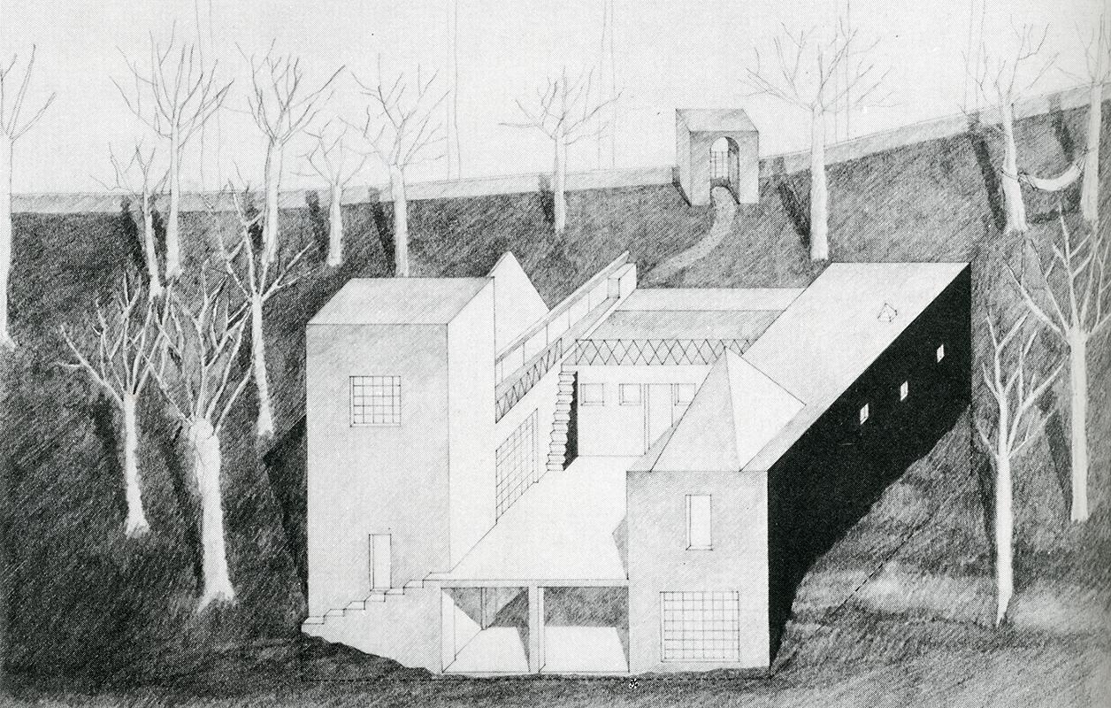 Steven Holl. GA Houses. 10 1982, 128
