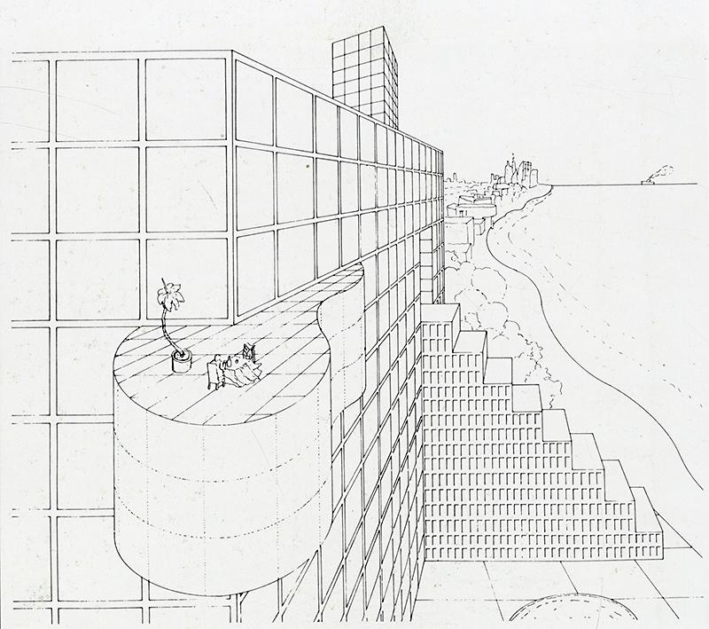 Arquitectonica. GA Document. 7 1983, 28
