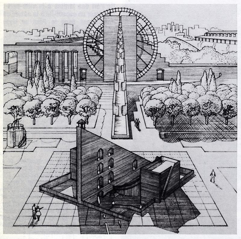 jean aubert and michel cantal dupart l 39 invention du parc graphite 1984 104 rndrd. Black Bedroom Furniture Sets. Home Design Ideas