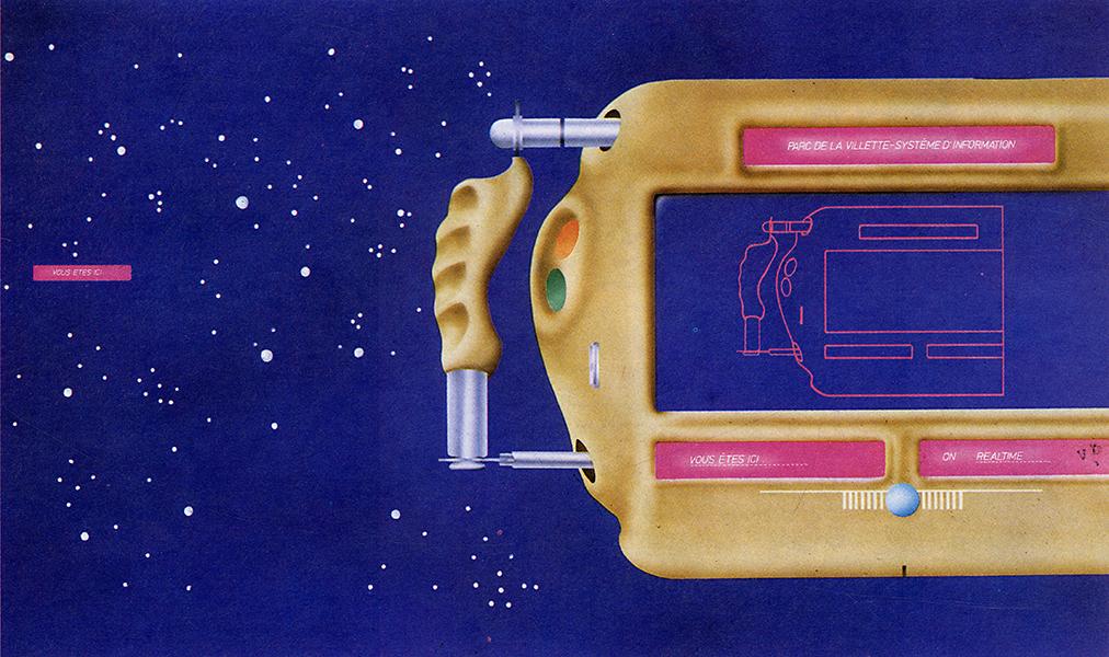 Maurizio Baruffi and Roberto de Santi. L'invention du parc. Graphite 1984, 86