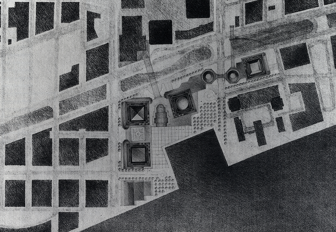 Cesar Pelli. GA Document. 11 1985, 51