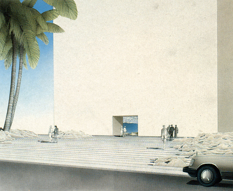 Emilio Ambasz. Architectural Record 174 June 1986, 133