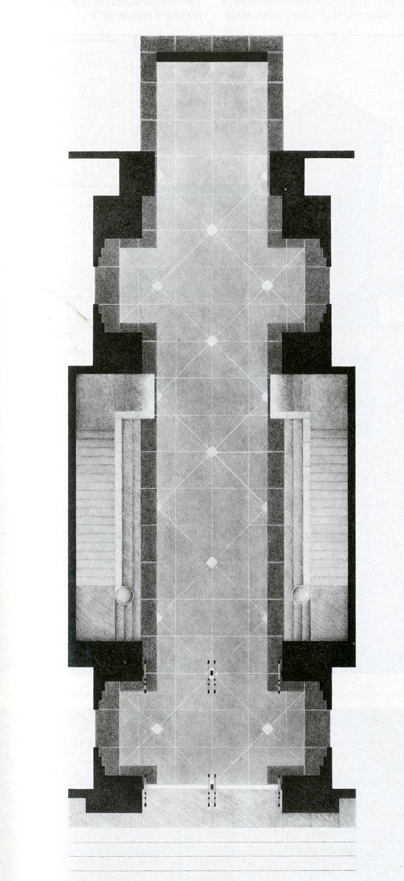 Peter L Gluck. Architectural Record 174 April 1986, 123