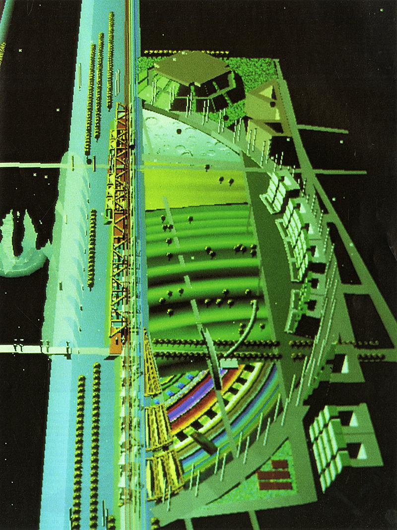 Alain Sarfati. Architecture D'Aujourd'Hui 258 September 1988, 71