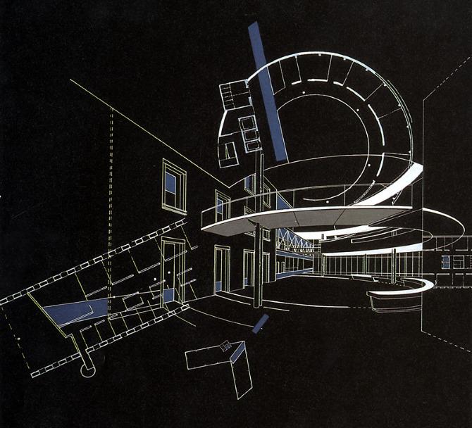 Bernard Tschumi. A+U 216 September 1988, 36