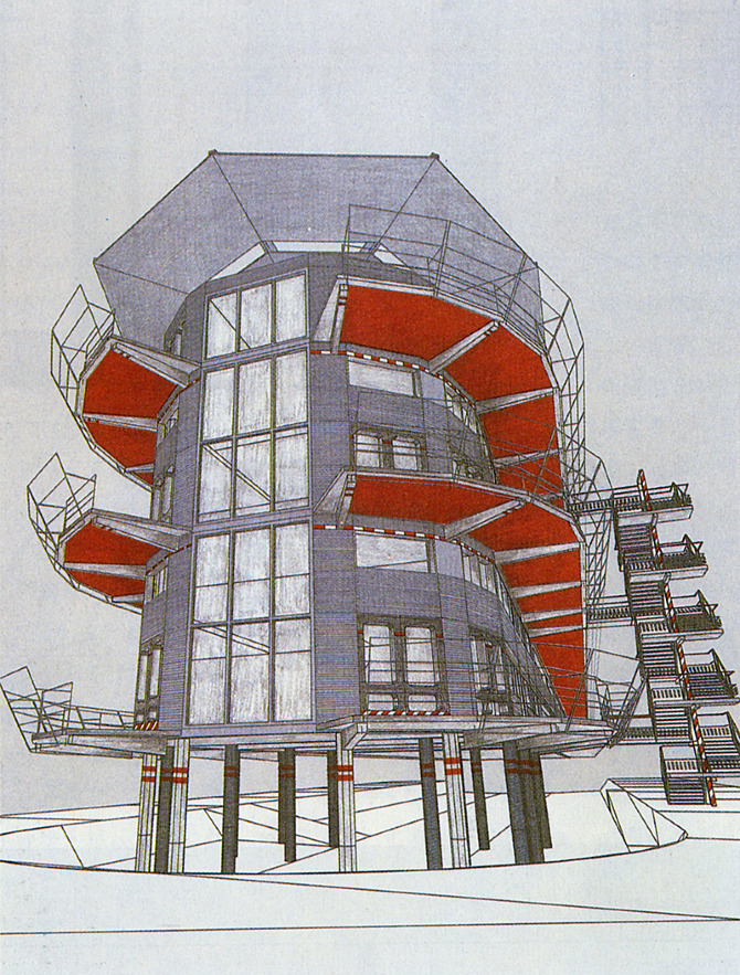Jean Nouvel. SD 290 August 1989, 46