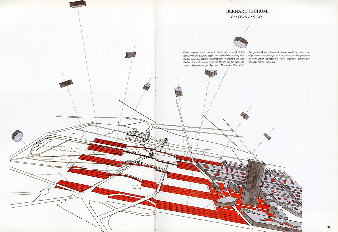 Bernard Tschumi. Architectural Design v.61 n.92 1991, 89