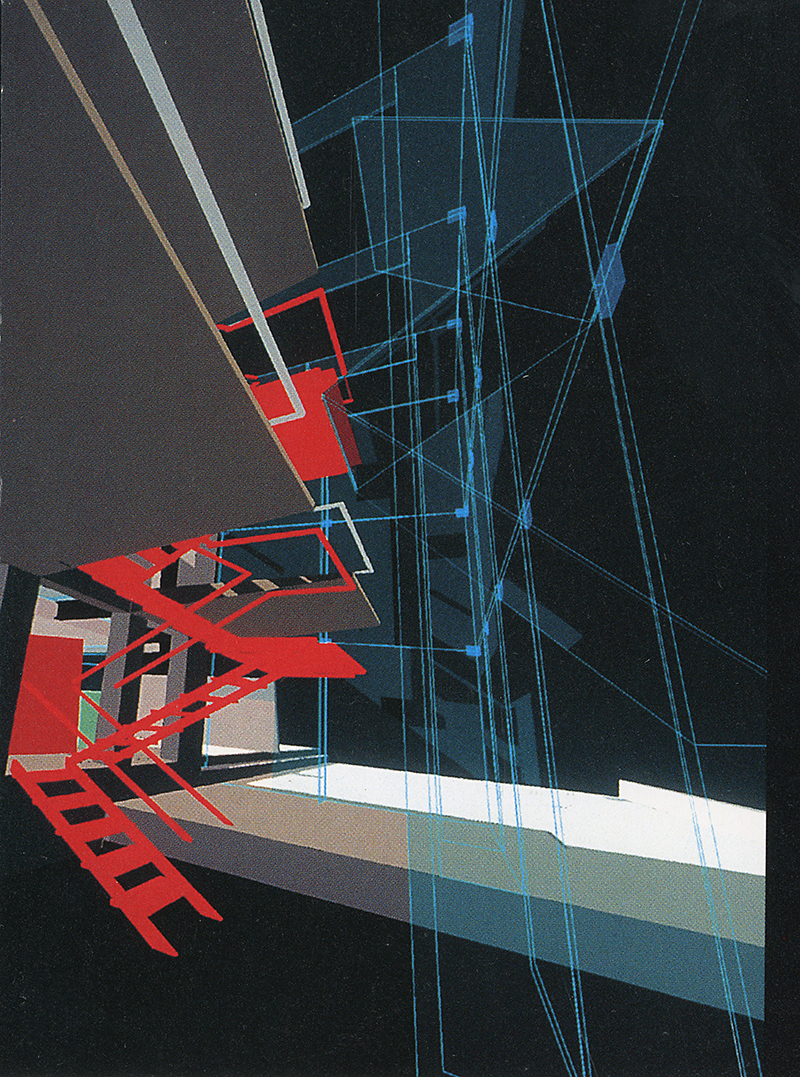 Bernard Tschumi. A+U Special Issue March 1994, 86