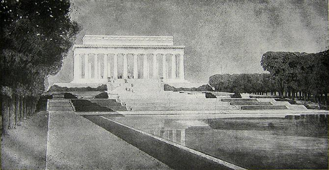 Henry Bacon. Architectural Record 47 20 March 1920, 379