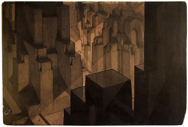 Hugh Ferriss. Envisioning Architecture (MoMA, New York, 2002) 1924, 52