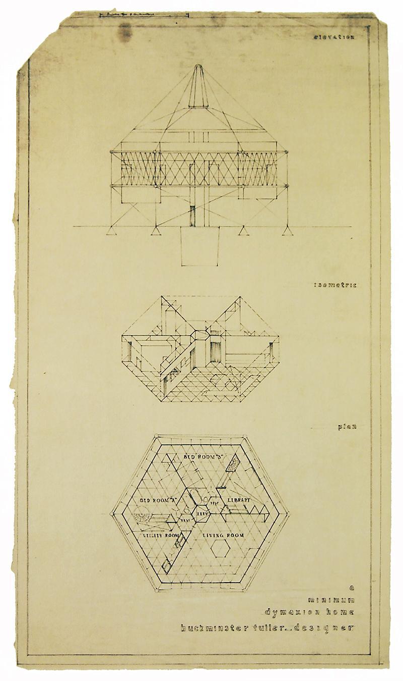 R.Buckminster Fuller. Envisioning Architecture (MoMA, New York, 2002) 1927, 65