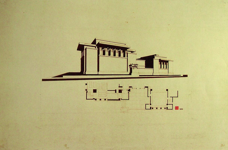 Frank Lloyd Wright, Heinrich Klumb, Takehiko Okami. Envisioning Architecture (MoMA, New York, 2002) 1929, 43