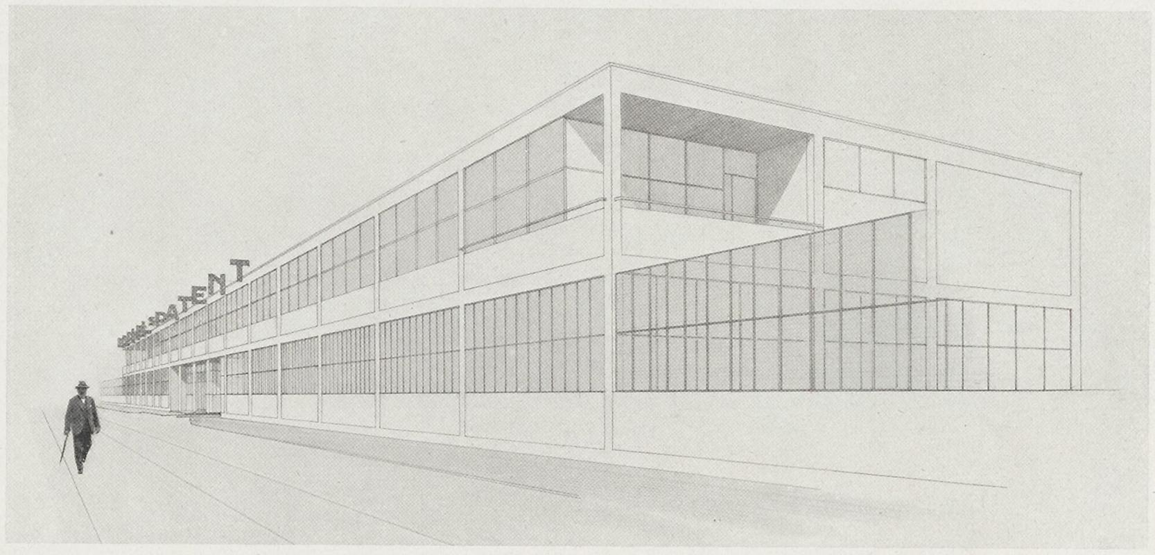 Mart Stam. Bauhaus 3-1 1929, 20