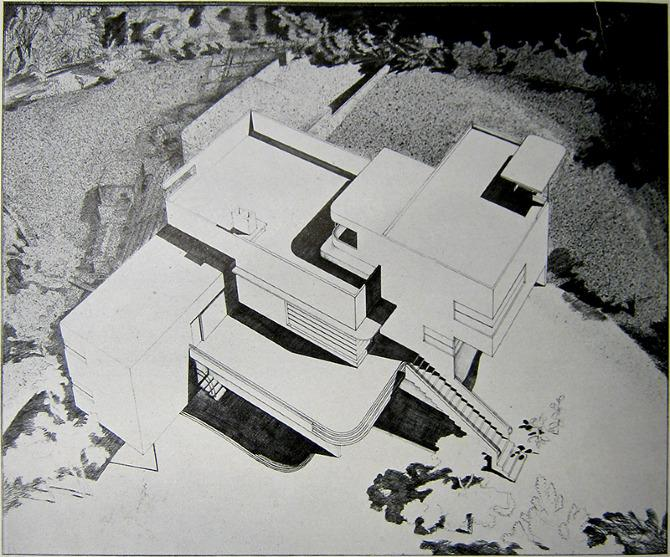 Howe and Lescaze. Architectural Record 68 30 October 1930, 440