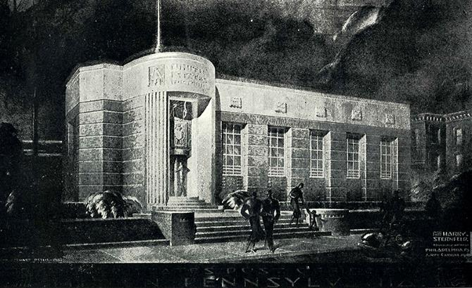 Walter Dorwin Teague. Pencil Points 14 October 1933, 439