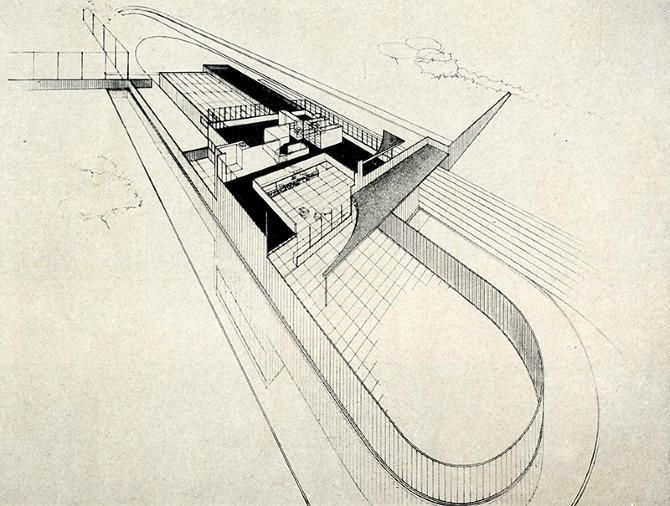 Richard Neutra. Pencil Points 18 July 1937, 423