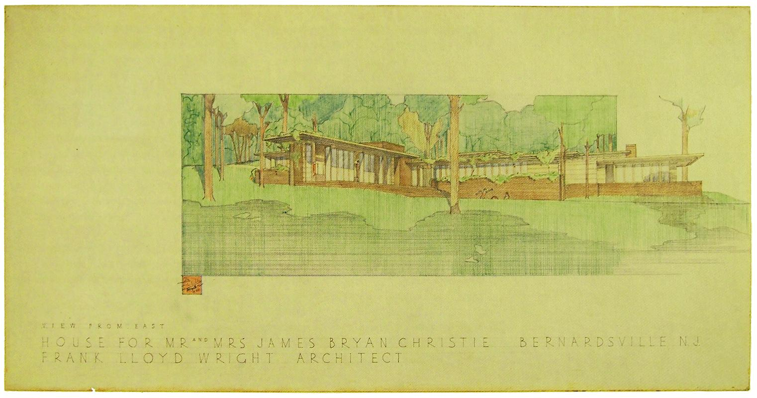 Frank Lloyd Wright. Envisioning Architecture (MoMA, New York, 2002) 1940, 95