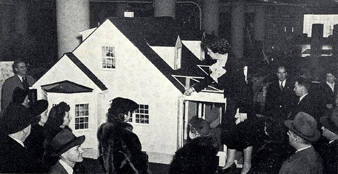 G Fox and Co. Architectural Forum 78 April 1943, 35