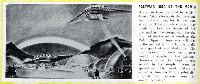 Wilbur Henry Adams. Architectural Forum 79 December 1943, 4