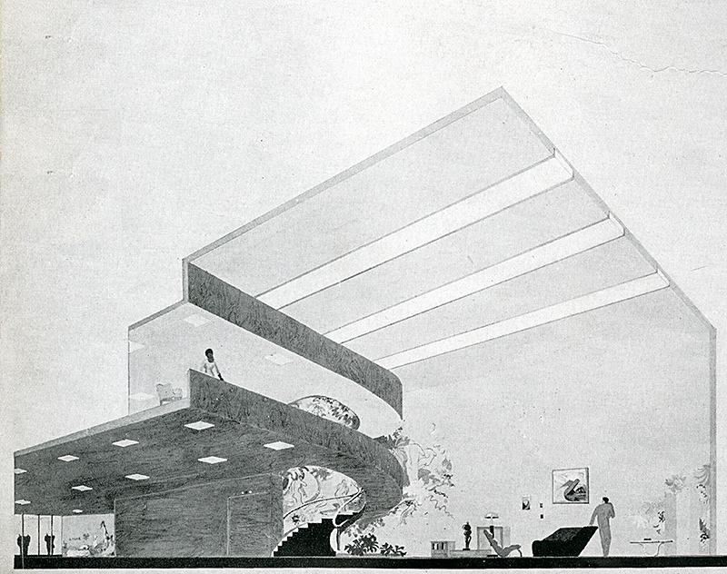 Unknown. Interiors v.102 n.8 Mar 1943, 34