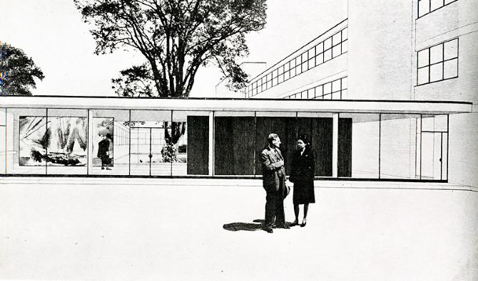 Skidmore Owings Merrill. Architectural Record 100 August 1946, 74