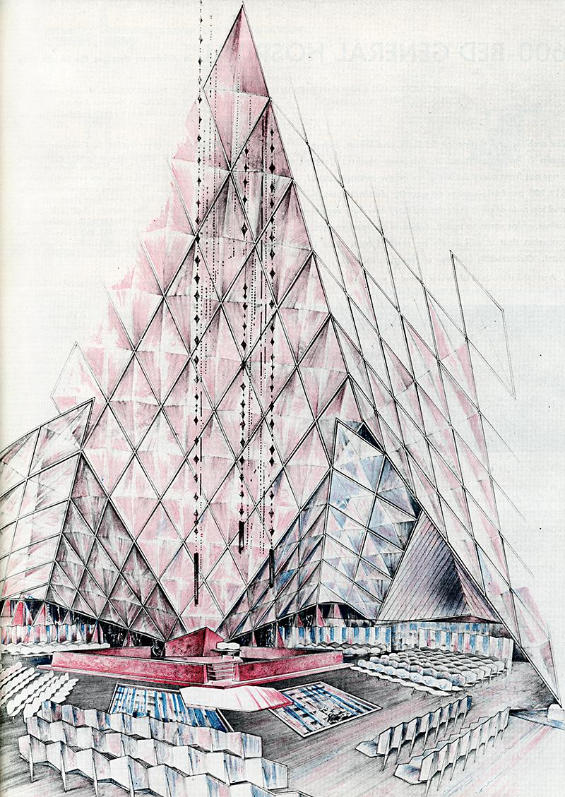 Bruce Goff. Architectural Forum Jul 1950, 89