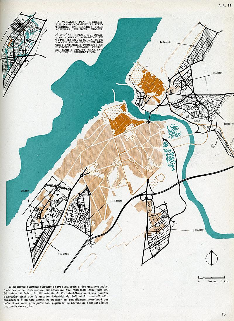 Chapon Mauret Nodopaka Sejourne Tastemain. Architecture D'Aujourd'Hui v. 21 no. 35 Feb 1950, 15